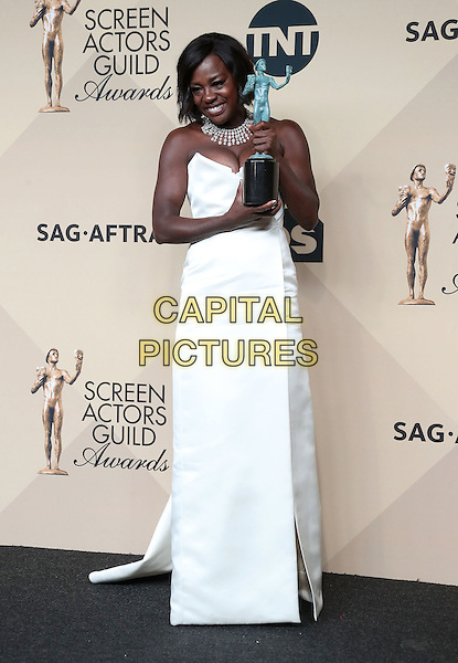 29 January 2017 - Los Angeles, California - Viola Davis. 23rd Annual Screen Actors Guild Awards held at The Shrine Expo Hall. <br /> CAP/ADM/FS<br /> &copy;FS/ADM/Capital Pictures