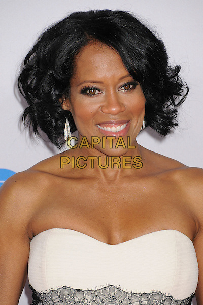 Regina King.People's Choice Awards 2013 - Arrivals held at Nokia Theatre L.A. Live, Los Angeles, California, USA..January 9th, 2013.headshot portrait white strapless lace black .CAP/ADM/BP.©Byron Purvis/AdMedia/Capital Pictures.