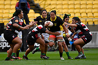 Joanah Ngan-Woo of Wellington in action during the Farah Palmer Cup - Wellington Pride v Counties Heat at Westpac Stadium, Wellington, New Zealand on Sunday 15 September 2019. <br /> Photo by Masanori Udagawa <br /> www.photowellington.photoshelter.com