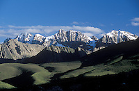 The magnificent Puborgang Mountains in Dabpa county, Kham - Sichuan Province, China, (Tibet)