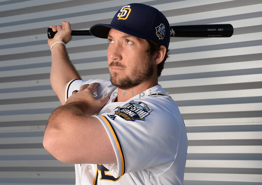 San Diego Padres Brett Wallace (39) during photo day on February 26, 2016 in Peoria, AZ.