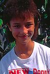 Teenage girl, Cayman Brac, Cayman Islands,