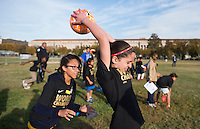Washington, DC - October 26, 2015:  US Soccer held a soccer clinic on the Ellipse.
