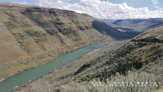 The lower Deschutes Canyon near Kloan.