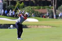 Andrew Johnston (ENG) plays his 2nd shot on the 10th hole during Thursday's Round 1 of the 2018 Turkish Airlines Open hosted by Regnum Carya Golf &amp; Spa Resort, Antalya, Turkey. 1st November 2018.<br /> Picture: Eoin Clarke | Golffile<br /> <br /> <br /> All photos usage must carry mandatory copyright credit (&copy; Golffile | Eoin Clarke)