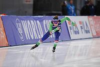 SCHAATSEN: BERLIJN: Sportforum Berlin, 05-07-12-2014, ISU World Cup, Antionette de Jong, ©foto Martin de Jong