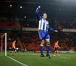 Paul Heffernan celebrates his goal for Killie