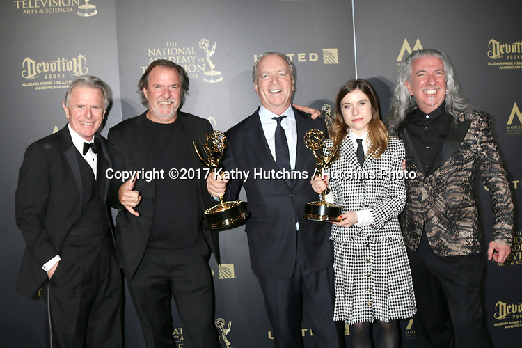 USA - 2017 Creative Daytime Emmy Awards - Pasadena | Hutchins Photo