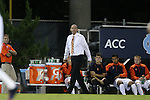 18 October 2013: Syracuse head coach Ian McIntyre. The University of North Carolina Tar Heels hosted the Syracuse University Orangemen at Fetzer Field in Chapel Hill, NC in a 2013 NCAA Division I Men's Soccer match. UNC won the game 1-0.