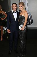 29 November 2018 - Las Vegas, NV - Kyle Larson, Katelyn Larson. 2018 Monster Energy NASCAR Awards Red Carpet at Wynn Las Vegas.     <br /> CAP/ADM/MJT<br /> &copy; MJT/ADM/Capital Pictures