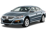 Front three quarter view of a 2010 Volkswagen CC Sport R-Line Sedan.