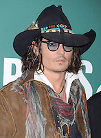 Johnny Depp in New York