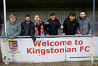 Kingstonian fans during Kingstonian vs Lewes, BetVictor League Premier Division Football at King George's Field on 16th November 2019