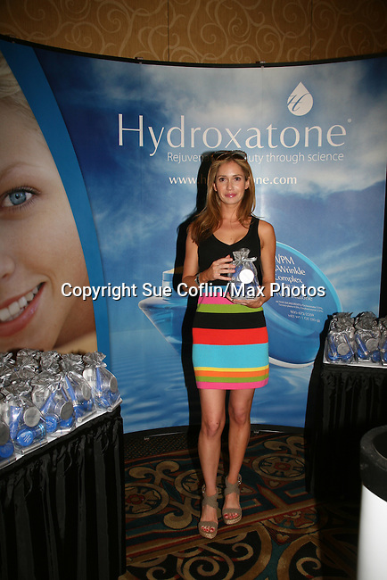 Ashley Jones - Official Daytime Emmy Awards gifting Suite on June 26, 2010 during 37th Annual Daytime Emmy Awards at Las Vegas Hilton, Las Vegas, Nevada, USA. (Photo by Sue Coflin/Max Photos)
