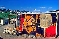 Barracos em São Miguel Paulista, São Paulo. São Paulo. 2003. Foto de Iolanda Huzak.