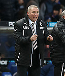 Ally McCoist after Rangers score the third goal