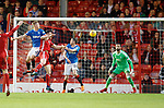 08.05.2018 Aberdeen v Rangers:  Ross McCrorie scores for Rangers