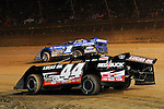 Sep 12, 2010; 12:17:08 AM; Rossburg, OH., USA; The 40th annual running of the World 100 Dirt Late Models racing for the Globe trophy at the Eldora Speedway.  Mandatory Credit: (thesportswire.net)