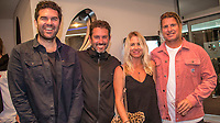 "Coolangatta, Queensland (Thursday, August 2 2018):Stirling Howard (AUS), flim maker Enich Harris (USA), Jessica Crawford (AUS) and  Mark Occhilupo (AUS). - The Gold Coast Premier of the Andy Irons: Kissed by God  movie was held last night at Twin Towns Resort with over a 1000 people in attendance including Joel Parkinson, Occy, Mick Fanning and Lyndie Irons. Kissed by God is a film about bipolar disorder and opioid addiction as seen through the life of three-time world champion surfer Andy Irons. Andy struggled with the same demons that millions of people worldwide battle with daily. Andy was an incredible presence on the world stage as the ""People's Champion."" He was the pride of Hawaii and revered around the world for his blue-collar rise to fame and success. However, many were unaware of the internal battles that led to his demise. As the opioid crisis rises to a national emergency in the United States and around the world, the untold story of Andy's life serves to tear down the myths associated with these two ferocious diseases.<br /> <br /> This film is produced by Teton Gravity Research and is brought to Australia in partnership with Surfing World Magazine<br /> Photo: joliphotos.com"