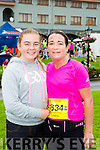 Karen and Elisha Leane Aghadoe celebrate finishing of the Killarney Run half marathon in the Gleneagle Hotel on Saturday