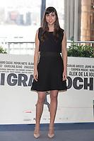 Carmen Ruiz poses during `Mi gran noche´ film presentation in Madrid, Spain. February 20, 2015. (ALTERPHOTOS/Victor Blanco) /NORTEphoto.com