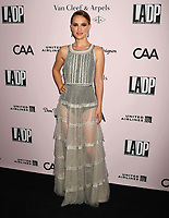 LOS ANGELES, CA - OCTOBER 19: Natalie Portman attends L.A. Dance Project's Annual Gala at Hauser & Wirth on October 19, 2019 in Los Angeles, California.<br /> CAP/ROT/TM<br /> ©TM/ROT/Capital Pictures