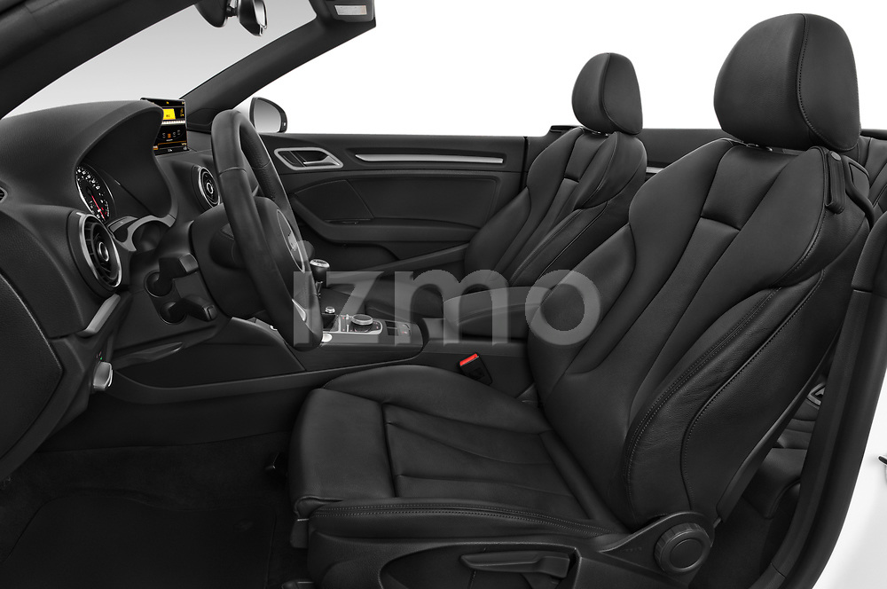 Front seat view of 2015 Audi A3 2.0T quattro S tronic Premium 2 Door Convertible front seat car photos