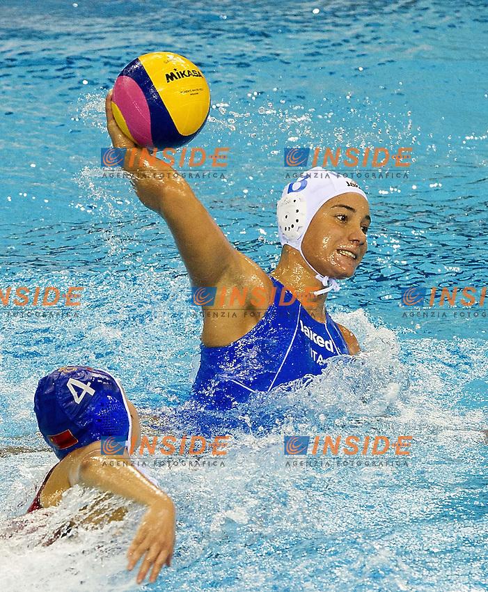 Shanghai , China (CHN) 16-31 July 2001.XIV FINA Swimming World Championships.day 06.Women's Water Polo.Italia Vs China.BIANCONI Roberta..Photo Insidefoto / Giorgio Scala