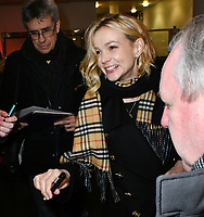 JAN 17 Carey Mulligan at 'Collateral ' BBC 2 premiere
