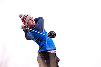 Alex Gleeson (Castle)<br /> during the final of the 2018 West of Ireland, in Co Sligo Golf Club, Rosses Point, Sligo, Co Sligo, Ireland. 03/04/2018.<br /> Picture: Golffile | Fran Caffrey<br /> <br /> <br /> All photo usage must carry mandatory copyright credit (&copy; Golffile | Fran Caffrey)