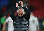 Chris Wilder manager of Sheffield Utd celebrates the win during the Premier League match at Selhurst Park, London. Picture date: 1st February 2020. Picture credit should read: Paul Terry/Sportimage