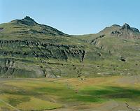 Flaga séð til vesturs, Breiðdalshreppur / Flaga viewing west, Breiddalshreppur