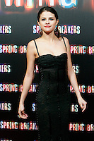 Selena Gomez attends 'Spring Breakers' photocall premiere at Callao Cinema in Madrid, Spain. February 21, 2013. (ALTERPHOTOS/Caro Marin) /NortePhoto