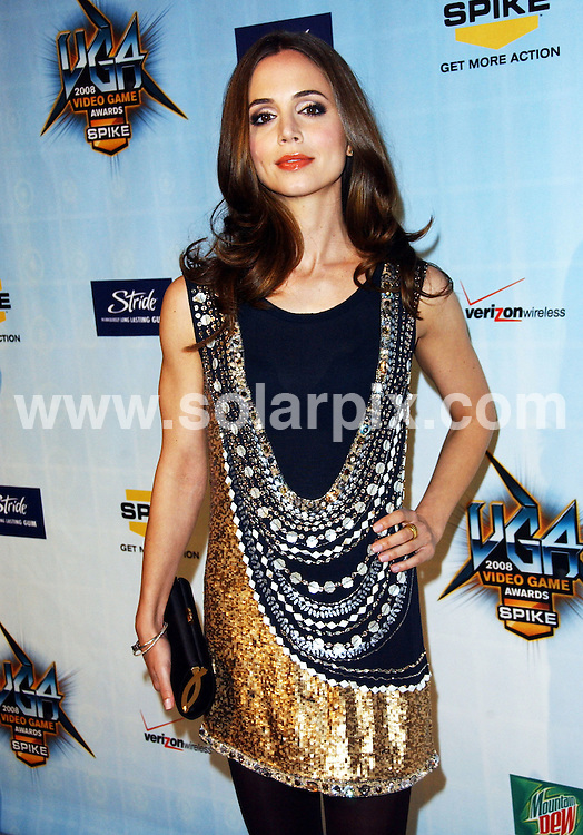 "**ALL ROUND PICTURES FROM SOLARPIX.COM**.**SYNDICATION RIGHTS FOR UK, SPAIN, PORTUGAL, AUSTRALIA, S.AFRICA & DUBAI (U.A.E) ONLY**.The  Spike TV's 2008 ""Video Game Awards"" Arrivals at the Sony Studios in Culver City, California in the USA..This pic: Eliza Dushku..JOB REF:8155-PHZ/ortega    DATE:14-12-08 .**MUST CREDIT SOLARPIX.COM OR DOUBLE FEE WILL BE CHARGED* *ONLINE USAGE FEE £50.00 PER PICTURE - NOTIFICATION OF USAGE TO PHOTO@SOLARPIX.COM*"