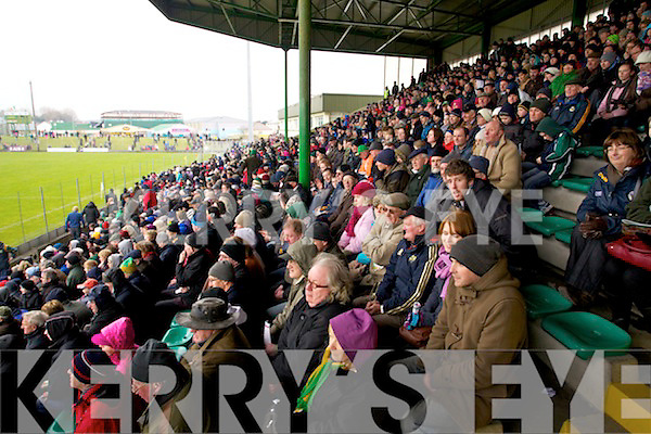 \\ Kerry in action against \\ Cork in the National Football League at Austin Stack park, Tralee on Sunday.