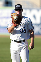 West Michigan Whitecaps first baseman Tony Plagman (30) during a game vs. the South Bend Silver Hawks at Fifth Third Field in Comstock Park, Michigan August 16, 2010.   West Michigan defeated South Bend 3-2.  Photo By Mike Janes/Four Seam Images