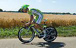 SITTARD, NETHERLANDS - AUGUST 16: Guillaume Boivin of Canada riding for Cannondale Pro Cycling competes during stage 5 of the Eneco Tour 2013, a 13km individual time trial from Sittard to Geleen, on August 16, 2013 in Sittard, Netherlands. (Photo by Dirk Markgraf/www.265-images.com)