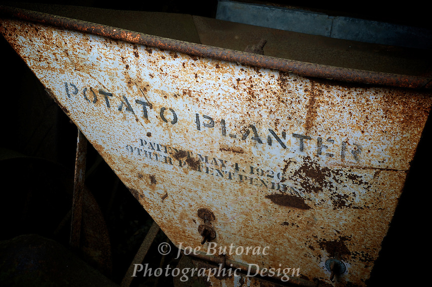 Potato Planter patent May 4 1920 other patent pending,Campbell Valley Park Langley B.C.