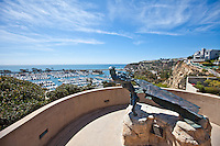 Sculpture Of The Hide Drogher In Dana Point