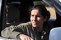 Iraq 2009 A PKK guerilla on her way to the Turkish border .Irak 2009.Une combattante du PKK en route pour la frontiere turque..