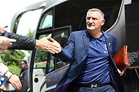 Blackburn Rovers manager Tony Mowbray arrives at the ground before kick off<br /> <br /> <br /> Photographer David Shipman/CameraSport<br /> <br /> The EFL Sky Bet Championship - Fulham v Blackburn Rovers - Saturday 10th August 2019 - Craven Cottage - London<br /> <br /> World Copyright © 2019 CameraSport. All rights reserved. 43 Linden Ave. Countesthorpe. Leicester. England. LE8 5PG - Tel: +44 (0) 116 277 4147 - admin@camerasport.com - www.camerasport.com