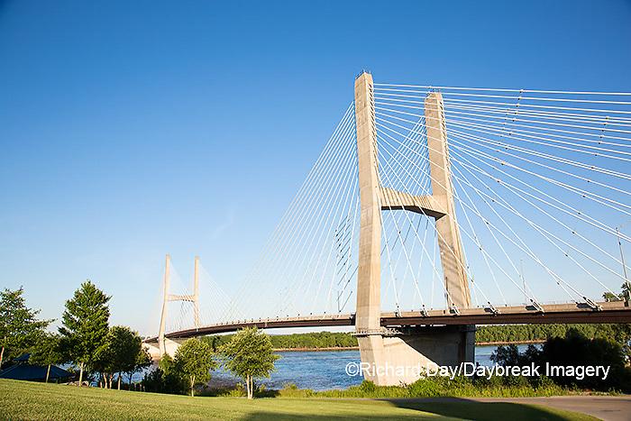 65095-02318 Bill Emerson Memorial Bridge over Mississippi River Cape Girardeau, MO