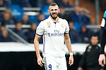 Real Madrid's forward Karim Benzema during the match of La Liga between Real Madrid and   Real Sociedad at Santiago Bernabeu Stadium in Madrid, Spain. January 29th 2017. (ALTERPHOTOS/Rodrigo Jimenez)