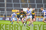 Ambrose O'Donovan Dr. Crokes in action against Dermot Hurley Castlehaven in the Munster Senior Club Final at Pairc Ui Caoimh on Sunday
