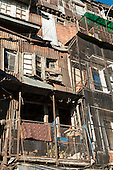 Shimla, Himachal Pradesh, India. Downtown housing.
