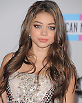 Sarah Hyland attends 2011 American Music Awards held at The Nokia Theater Live in Los Angeles, California on November 20,2011                                                                               © 2011 DVS / Hollywood Press Agency