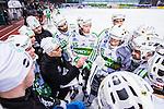 Stockholm 2014-03-01 Bandy SM-semifinal 1 Hammarby IF - V&auml;ster&aring;s SK :  <br /> V&auml;ster&aring;s tr&auml;nare Stefan &quot;Lillis&quot; Jonsson under en timeout i den andra halvleken<br /> (Foto: Kenta J&ouml;nsson) Nyckelord:  VSK Bajen HIF tr&auml;nare manager coach
