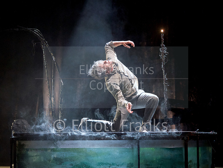 The Toad Knew <br /> James Thierree / Compagnie du Hanneton <br /> at Sadler's Wells, London, Great Britain <br /> Press photocall <br /> 3rd may 2017 <br /> <br /> James Thierree<br /> <br /> <br /> <br /> <br /> <br /> Photograph by Elliott Franks <br /> Image licensed to Elliott Franks Photography Services