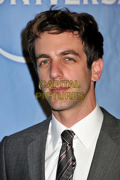 B.J. NOVAK.NBC Universal's TCA Press Tour Party 2009 held at the Langham Huntington Hotel & Spa, Pasadena, CA, USA..August 5th, 2009.headshot portrait grey gray white.CAP/ADM/BP.©Byron Purvis/AdMedia/Capital Pictures.