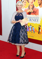 "World Premiere Of Dreamworks Pictures' ""The Hundred-Foot Journey"""